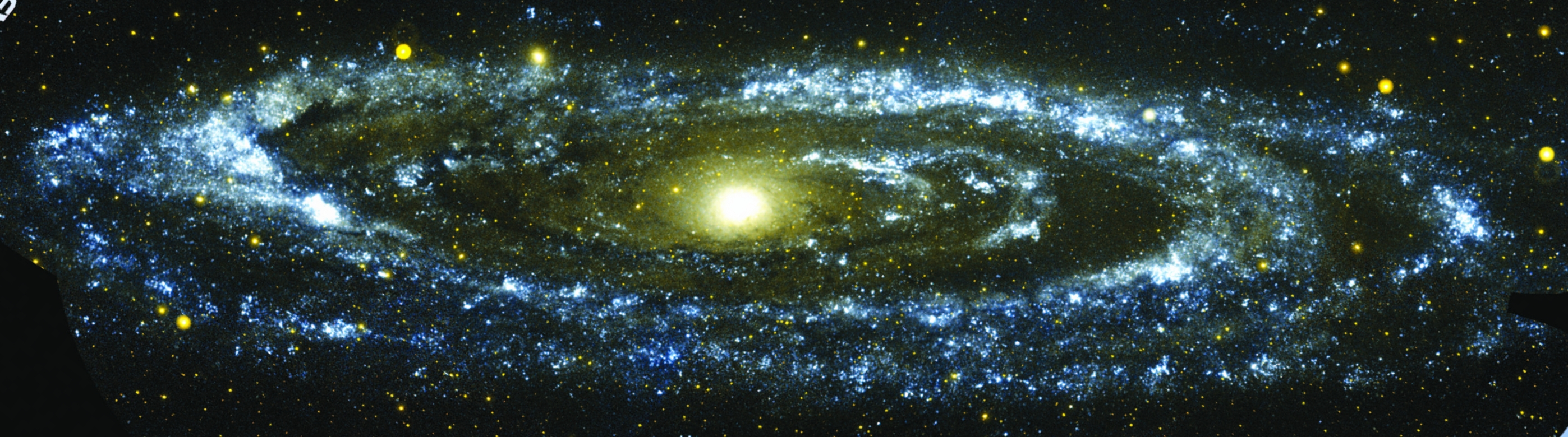 Our nearest big neighbor, the Andromeda Galaxy (M31), seen here in ultra-violet light as detected by the GALEX satellite