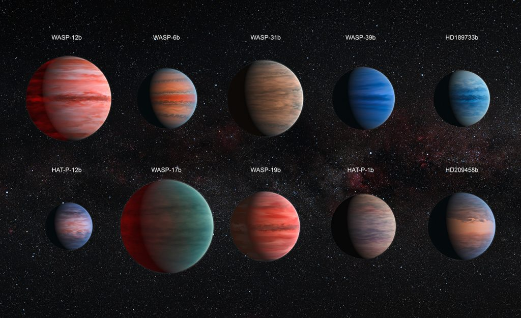 10 exoplanets