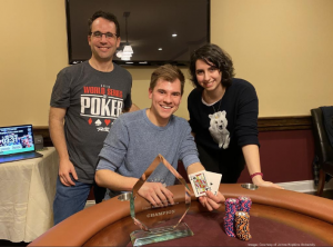 Lab Manager gets second place in JHU's class poker tournament!
