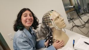 Preparing for our upcoming EEG studies!
