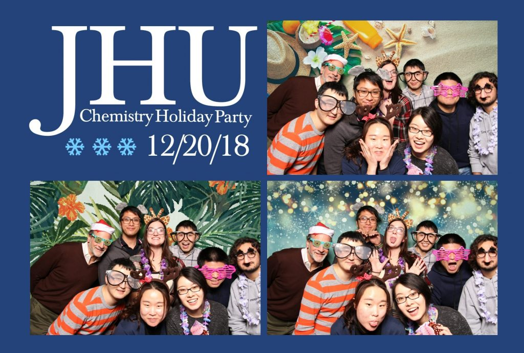 Chemistry 2018 holiday party