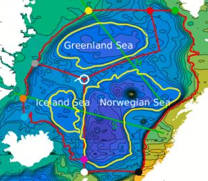 Nordic Seas Heat and Salt Redistribution