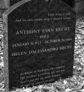 Anthony Evan Hecht