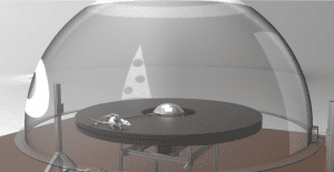 Rendering of dome apparatus