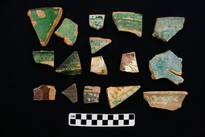 Middle Islamic sherds.