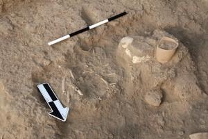 Mittani phase 1, child burial.
