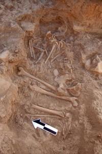 Neo-Babylonian/Achaemenid adult female burial.