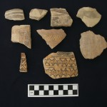 Chalcolithic sherds found in 2nd millennium BC contexts at Kurd Qaburstan excavations, indicating the presence of 6th-5th millennium BC occupation at the site.