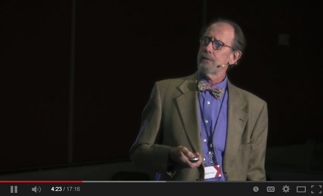 Volcanism and wine tears: Bruce Marsh at TEDxJohnsHopkinsUniversity