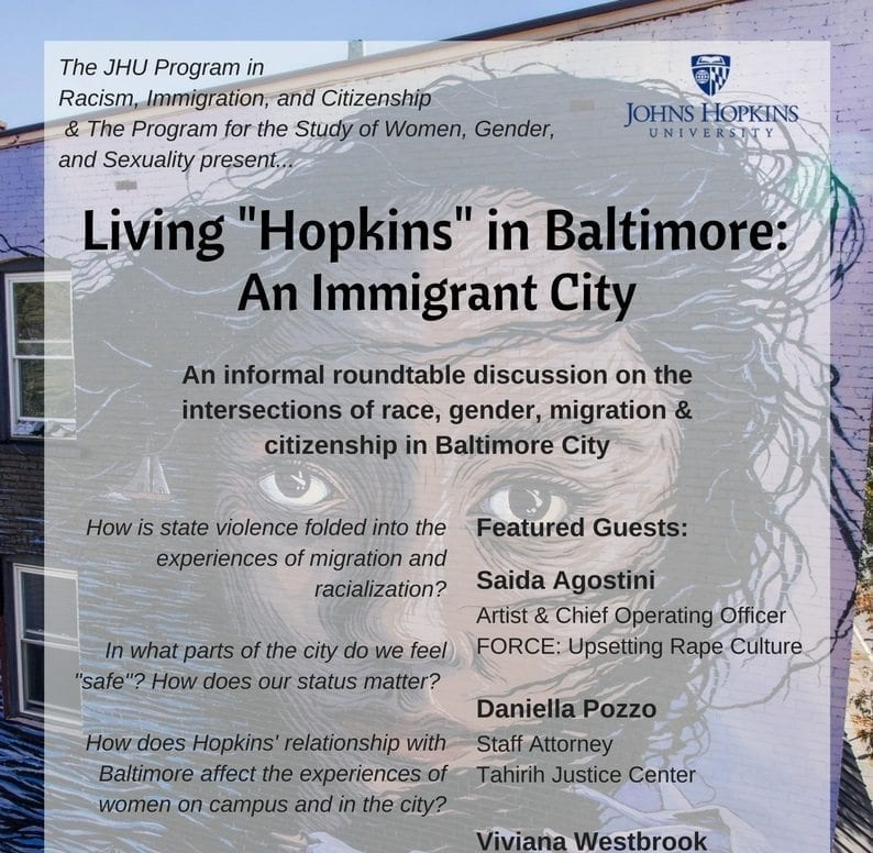 """4th Annual Living """"Hopkins"""" Roundtable"""