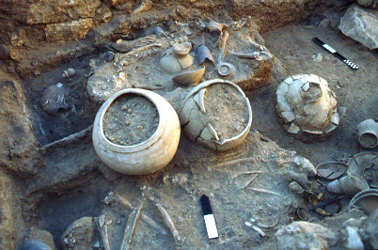 Early Bronze Age Tomb 1, top layer
