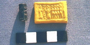 Middle Bronze II cylinder seal and impression