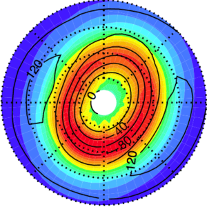 Paper on effect of dust of Martian polar vortices accepted.